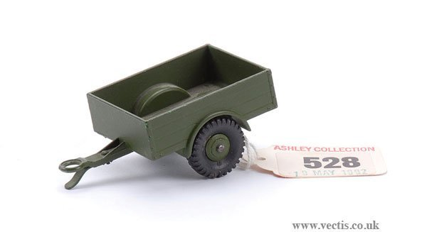 2362: Dinky No.341 Military Land Rover Trailer
