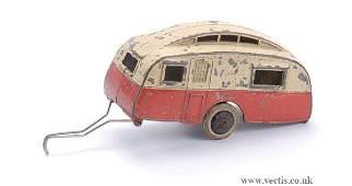 2521: Dinky Pre-war No.30G Caravan