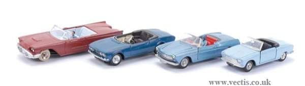 2691: French Dinky Open-top Sports Cars