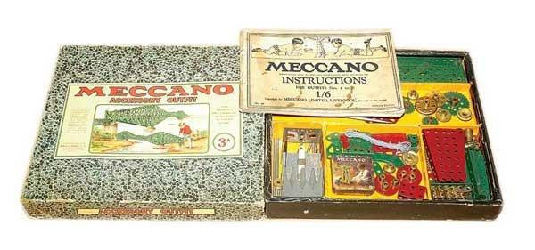 3002: Meccano Late 1920s No.3A Set