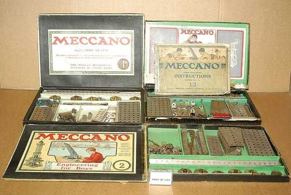 3003: Meccano Early Nickel Outfits