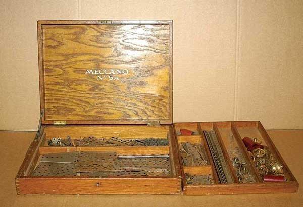3004: Meccano No.5A Nickel Set