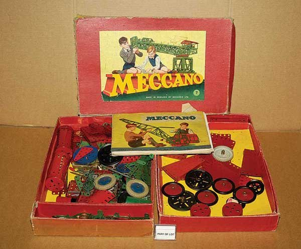 3008: Meccano Early Nickel Parts & Others