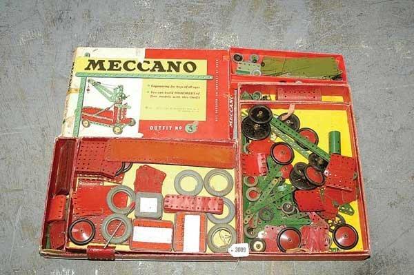 3009: Meccano 1950s No.7 Sets x 2