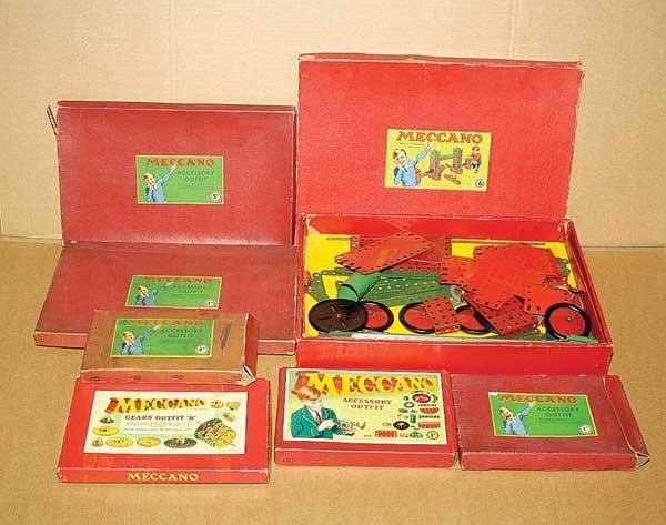 3010: Meccano 1950s Sets