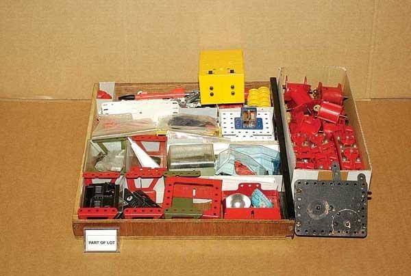 3013: Meccano ElectriKit/Electronic Control Set Parts
