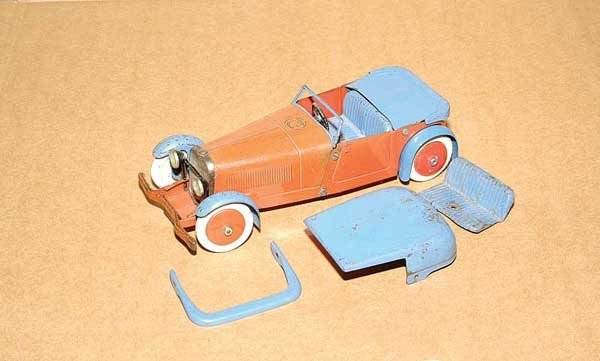 3016: Meccano No.1 Constructor Car Sports Tourer