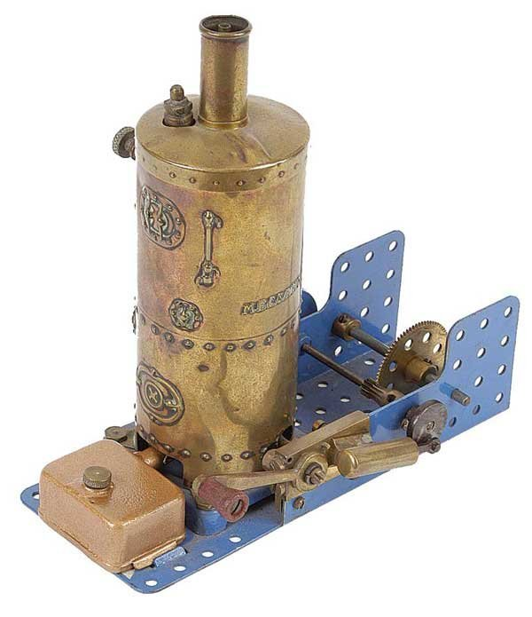 3019: Meccano c.1920s Steam Engine