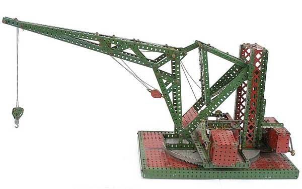 3024: Meccano Model of a Pontoon Crane