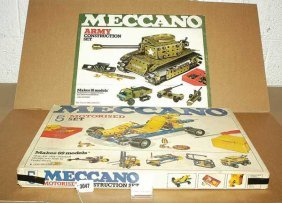 Meccano Unused Late Sets