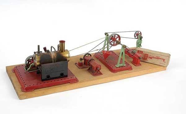 3052: Mamod Steam Plant with Single Flywheel