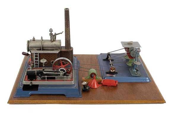 3055: Wilesco D16 Steam Plan