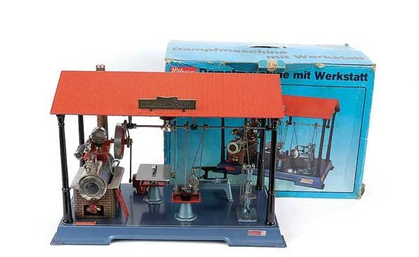 3056: Wilesco D141 Steam Engine and Work Shop
