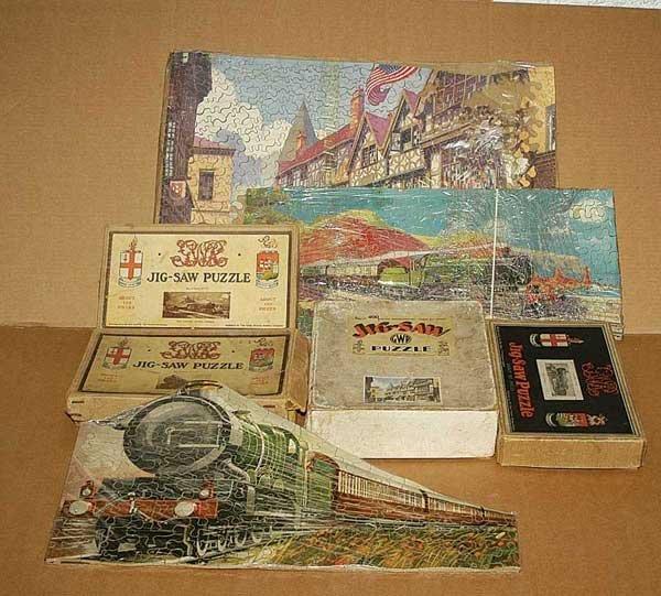 3061: Chad Valley GWR Jigsaws