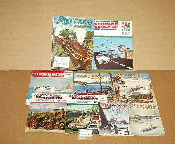 3065: Meccano Magazines - A Quantity from 1940 to 1966