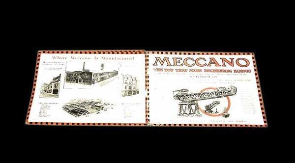 3066: Meccano 1929 USA Products Catalogue