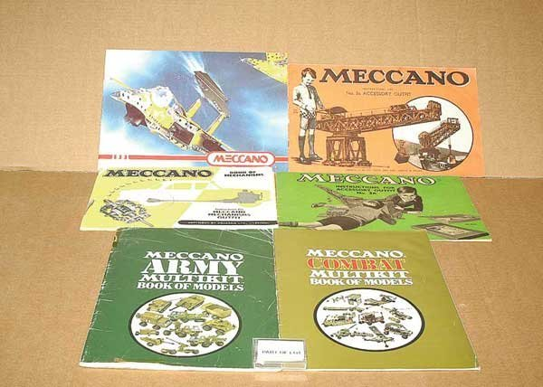 3069: Meccano - A Quantity of Leaflets & Others