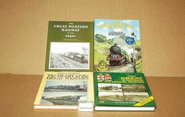 3072: A Group of Railway Hardback Books