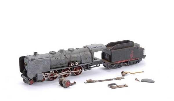 3429: Marklin 3-Rail Pre-war HR700 4-6-2 Loco & Tender