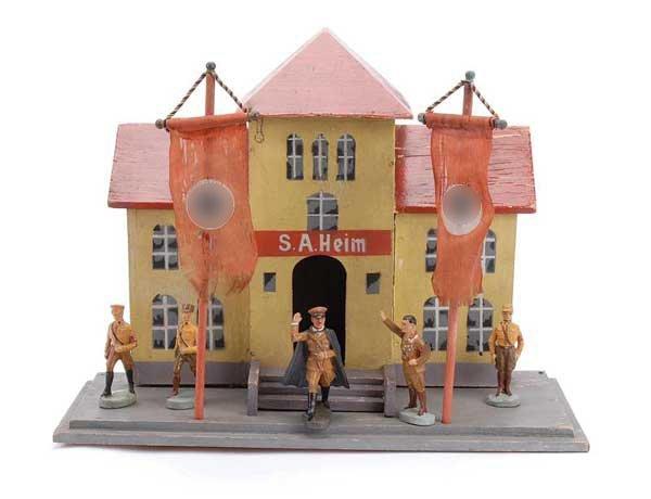 4175: Elastolin Model No 18400, SA HEIM [SA House]