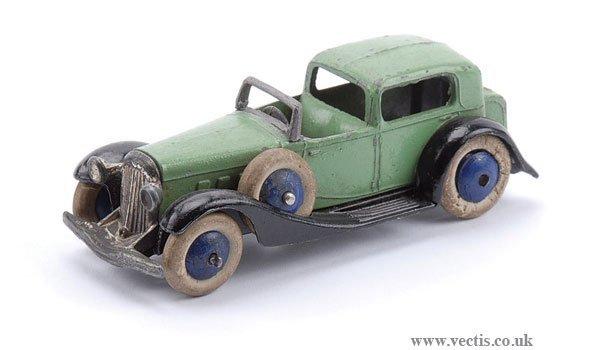 7: Dinky Pre-war No.24C Town Sedan