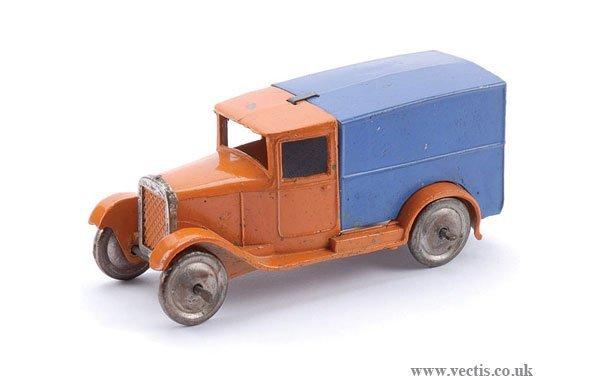 """12: Dinky Pre-war No.22D Delivery Van """"Hornby"""""""