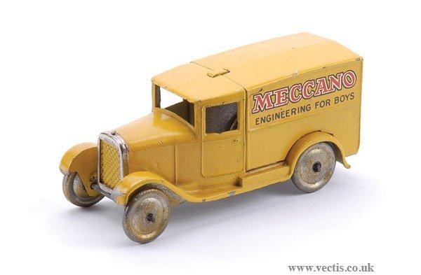 """14: Dinky Pre-war No.28N Delivery Van """"Meccano"""""""
