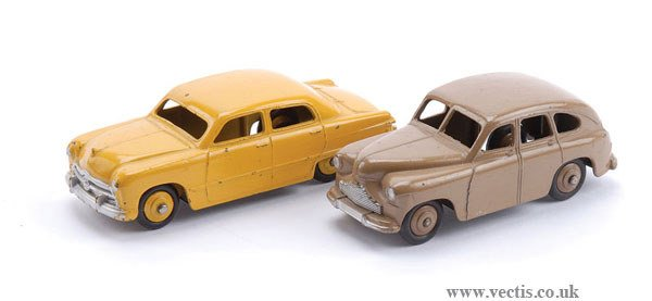 1014: Dinky Ford and Standard Vanguard Saloons