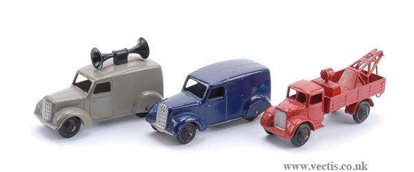1015: Dinky Loud Speaker Van & Other Commercials
