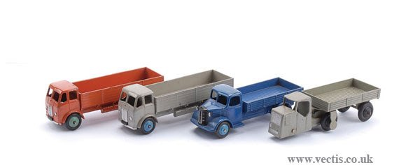 1017: Dinky - A Group of Austin and Leyland Lorries