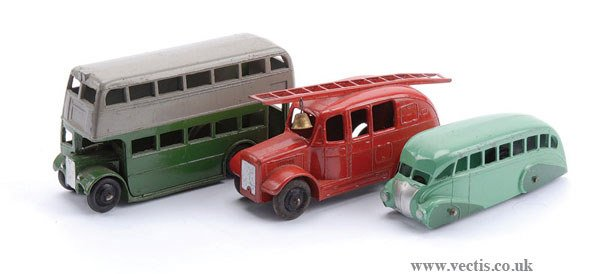 1018: Dinky Buses and Fire Engine