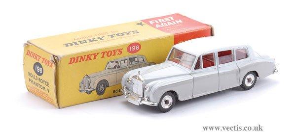 1260: Dinky No.198 Rolls Royce Phantom V