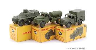 1324 Dinky  A Group of Smaller Military Vehicles