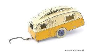 1678: Dinky Pre-war No.30G Caravan Trailer