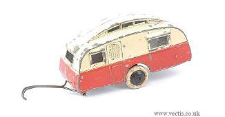 1680: Dinky Pre-war No.30G Caravan Trailer