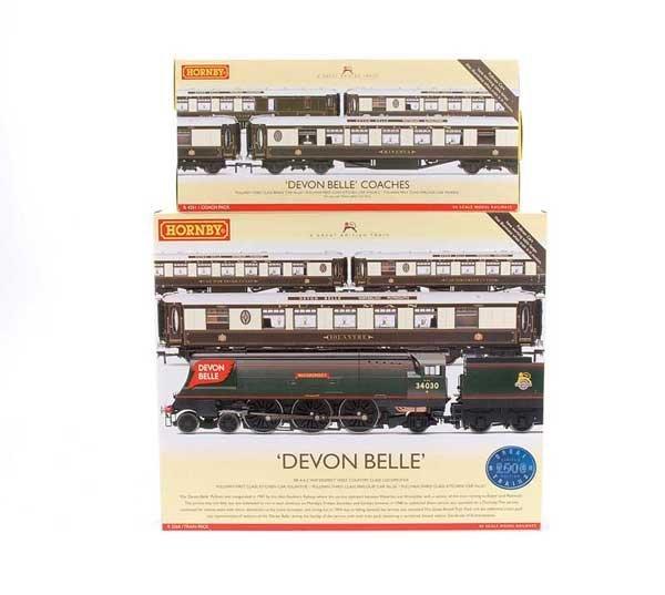 "4005: Hornby R2568 ""Devon Belle"" Train Pack"
