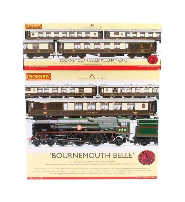 """4006: Hornby R2300 """"Bournemouth Belle"""" Train Pack"""