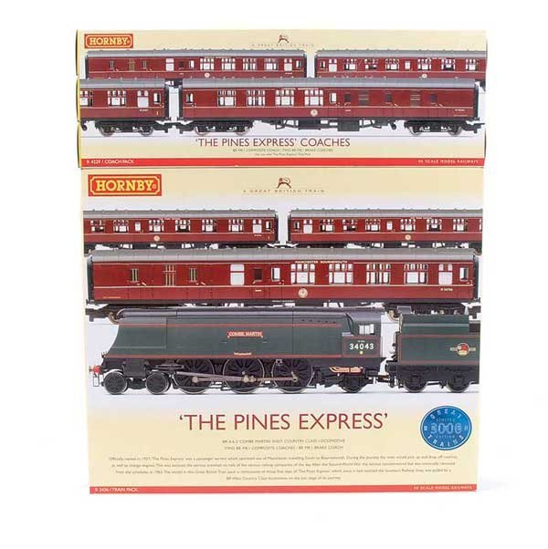 """4007: Hornby R2436 """"The Pines Express"""" Train Pack"""