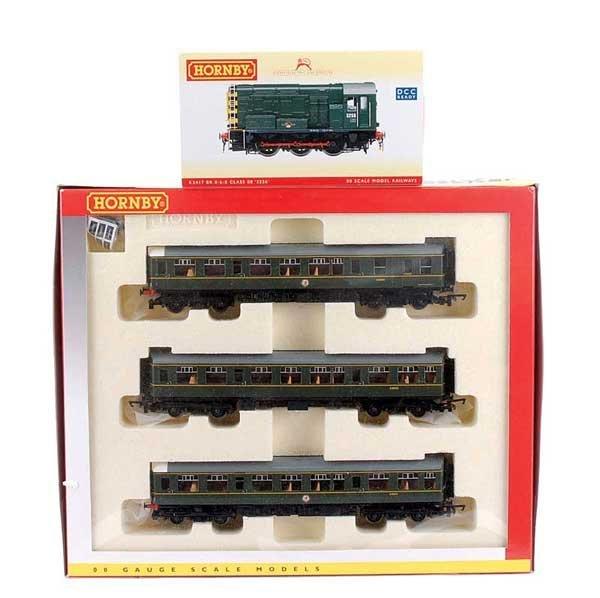4015: Hornby - A Pair of BR Green Diesel Locos