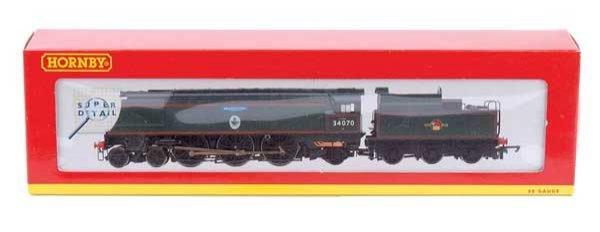 """4016: Hornby R2260 4-6-2 No.34070 """"Manston"""""""