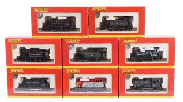 4023: Hornby - A Group of 0-4-0 Steam & Diesel Locos