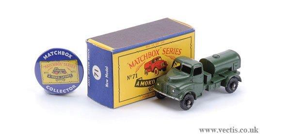 2002: Matchbox No.71a Austin 200 Gallon Water Truck