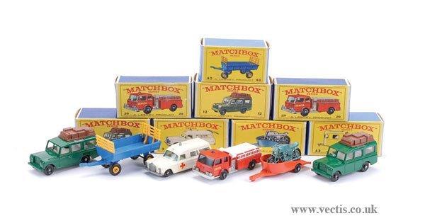 """2004: Matchbox No.3c Mercedes """"Ambulance"""" & Others"""