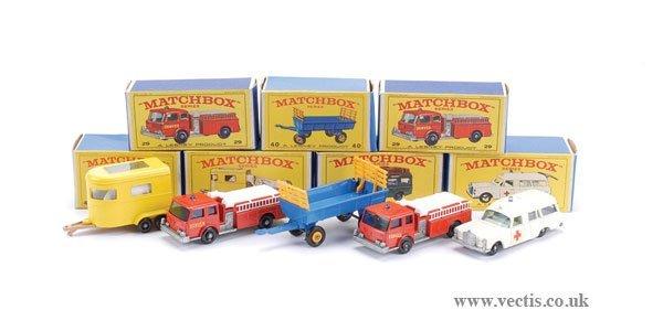 """2005: Matchbox No.3c Mercedes """"Ambulance"""" & Others"""