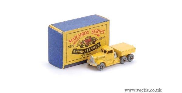2007: Matchbox No.15a Diamond T Prime Mover