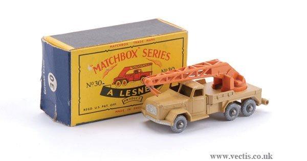 2008: Matchbox No.30b Magirus Deutz Crane Lorry
