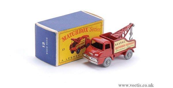 2011: Matchbox No.13c Thames Trader Wreck Truck