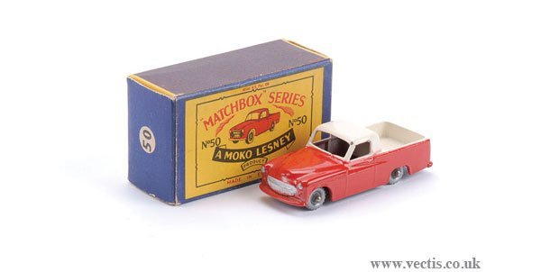2012: Matchbox No.50a Commer Pick-up