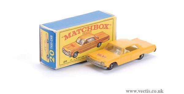 """2015: Matchbox No.20c Chevrolet """"Taxi"""""""