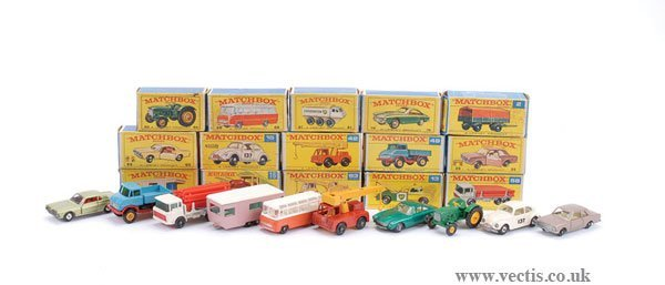 2016: Matchbox - A Group of Cars and Commercials